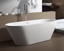 aM771 59 Inch SMALL MODERN FREE STANDING BATHTUB & FAUCET bath tub clawfoot