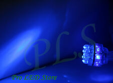2x 7443 T20 Super Blue 15 LED Tail Stop Brake Parking Lights Bulbs
