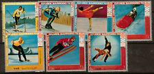 YEMEN Mi1440/46 1972 WINTER OLYMPIC GAMES F/USED
