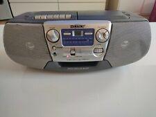 SONY CFD-V7 CD RADIO CASSETTE Recorder Bass Reflex Body MEGA BASS