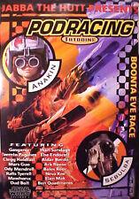 STAR WARS Episode 1 Poster PODRACE 1999   The Phantom Menace