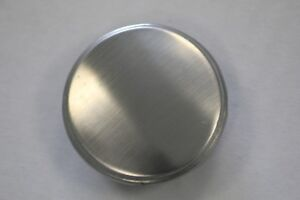 35mm kitchen sink tap hole cover, brushed , chrome , linen finishes