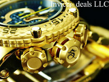 Invicta Men's 52mm Subaqua Noma VI Chronograph Black Dial 18K Gold Plated Watch