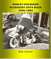 Harley-Davidson Motorcycle Accessory Data Book 1950-1984  ~374 pgs~ NEW!