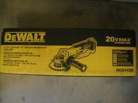 "Dewalt DCG412B 20V 4-1/2"" Cordless Angle Grinder 20 Volt NEW Cut Off Tool NEW"