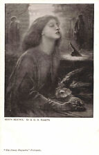 R195905 Beata Beatrix. By G. C. D. Rossetti. The Penny Magazine. R. H. Brewster