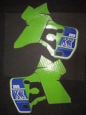 Rad & Tanque Calcomanías Pegatinas de gráficos KX250 KX 250 1989
