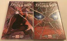 THE AMAZING SPIDER-MAN VOL 1 & 2 SEALED HARDCOVERS BY DAN SLOTT
