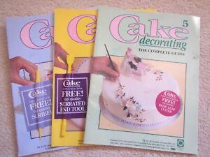 Cake Decorating Instruction Magazines Issues 4, 5 & 6