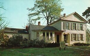 Vintage Postcard The Mill Hollow House Loraine County Metropolitan Park OH