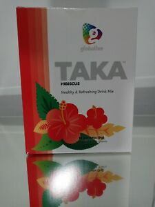 TAKA by Globallee HIBISCUS Healthy Energy Drink 15 Packets freeshippin 🚛🚛🚛