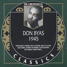 DON BYAS 1945 CLASSICS CD NEW SEALED LONG OUT OF PRINT