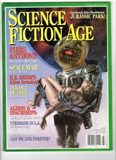 WoW! Science Fiction Age V1#5 👽 Jurassic Park! Gallery! Games! Comics! Fiction!