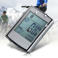 2-in-1 Wireless LCD Bicycle Cycling Computer + Cadence Heart Rate Monitor NEW#