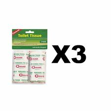 Coghlan's Toilet Tissue Biodegradeable Single Ply Strong Absorbant (3-Pack of 2)