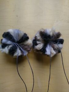 Wool Bowstring Silencers Puffs