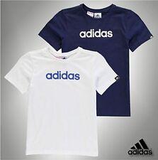 adidas Boys' Logo 100% Cotton T-Shirts & Tops (2-16 Years)
