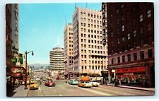 *1950s Hollywood and Vine Rexall Drugs Taft Building Hollywood California Pc A8