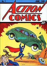 ACTION COMICS #1 SUPERMAN (1938) DC COMIC COVER POSTER PRINT 1974 ? CLASSIC CVR