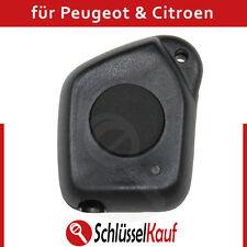Peugeot Citroen Autoschlüssel 1 Taste Gehäuse Fernbedienung Remote Key Cle Neu