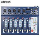 ammoon F7-USB 7-Channel Digital Mic Line Audio Sound Mixer Mixing Console