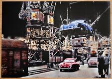 """org. Plakat Poster """"Porsche"""" 50er Druckauflage 500 Stk Verschiffung Porsche 356"""