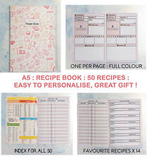 RECIPE NOTES ANY DIET, ALL YOUR FAVOURITE, RECORD 50, Slimming World Compatible
