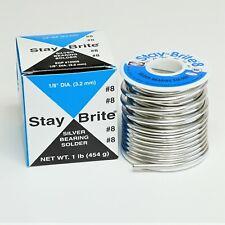 Harris Sb861 Stay Brite 8 Silver Bearing Solder 18 X 1 Lb Spool