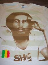 BOB MARLEY FLAG STRIPES T-Shirt YOUTH LARGE NEW