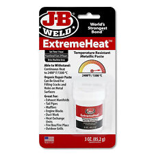 J-B Weld Extreme Heat High Temperature Resistant Metallic Paste - 3 oz.