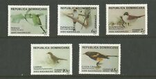 More details for dominican republic. 1979. birds set of 5 values mnh sg:1378/82.