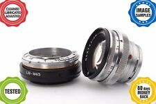 Contax KIEV RF to MFT m43 m4/3 adapter with focusing part*GIFTJupiter-8m 2/50*