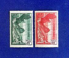 France 1937 *** Samothrace *** N°s 354 & 355 *** Neufs Sans Charnière  TTBE