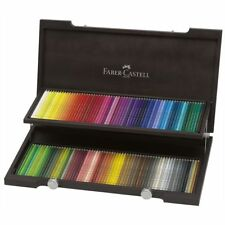 FABER CASTELL Farbstifte 110013 Polychromos 120 Stück im Holzkoffer