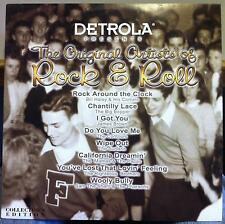 VARIOUS detrola presents original artists of rock & roll  LP Mint- Big Bopper