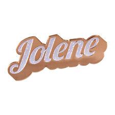 Jolene [White Glitter] enamel pin- Dolly Parton, Country Music