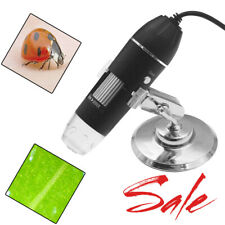 1600x Usb Digital Microscope With Stand For Electronic Accessories Coin Inspection