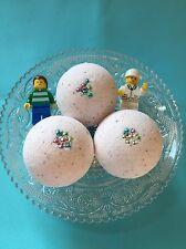6 Bath Bomb Lego Mini Figure Surprise Birthday Party Bath Time Organic Gift