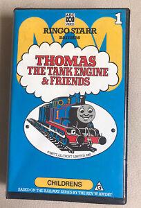THOMAS THE TANK ENGINE & FRIENDS Ringo Starr Vol 1 1983  VHS PAL Video CLAM Case
