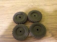 vintage tonka ford pickup truck set of 4 solid rubber tires for parts