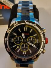 red line Men's RL-60011 Cruiser Chronograph Black Dial Two Tone Stainless Steel