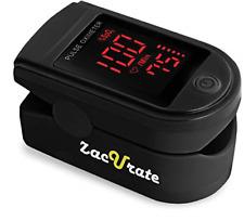 Zacurate Pro Series 500dl Fingertip Pulse Oximeter Blood Oxygen Saturation