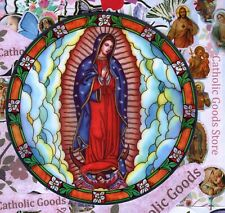 Our Lady of Guadalupe  - Static Cling Reusable Vinyl Window Decal Sticker