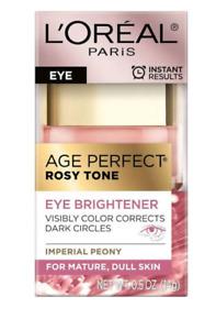 Loreal Age Perfect Rosy Tone Eye Brightener  0.5 oz