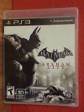 Batman Arkham City Playstation 3 PS3 (2011) LN