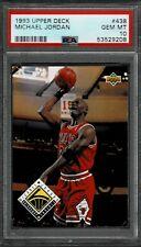 1993 Upper Deck MICHAEL JORDAN #438  - Chicago Bulls - PSA 10 GEM MINT