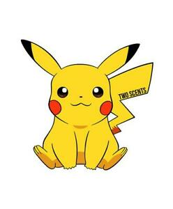 Pikachu Pokemon Car Air Freshener Mild Scent Strength