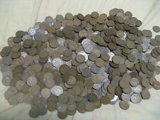 HUGE PILE  OF RARE 2000+ CANADIAN PENNIES 1937 TO 52 MIXED KING GEORGE VI ERA