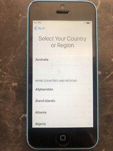 Apple iPhone 5c - 8GB - Blue (Unlocked) A1529 (GSM) (AU Stock)