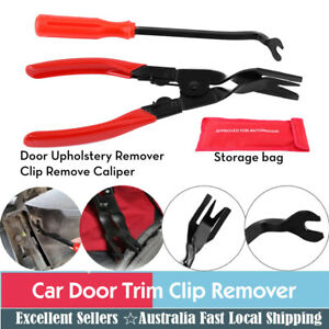 2 Pcs Auto Car Door Trim Clip Removal Plier Removal Carbon Steel Pliers Tool